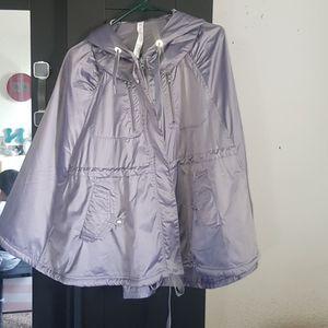 Lululemon cape poncho rain jacket